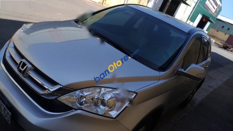 Bán xe Honda CR V 2.4AT đời 2011, màu bạc, biển số 60A, đăng ký T3/2011