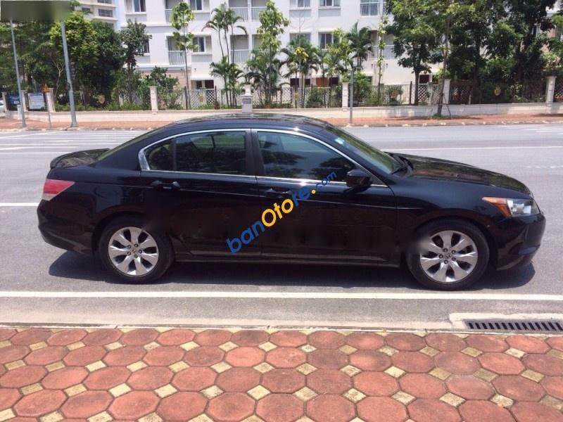 Bán Honda Accord 2.4AT đời 2008, màu đen, xe đi cực ít, chính chủ gia đình