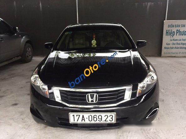 Bán Honda Accord năm 2007, màu đen, nhập khẩu nguyên chiếc, 630 triệu