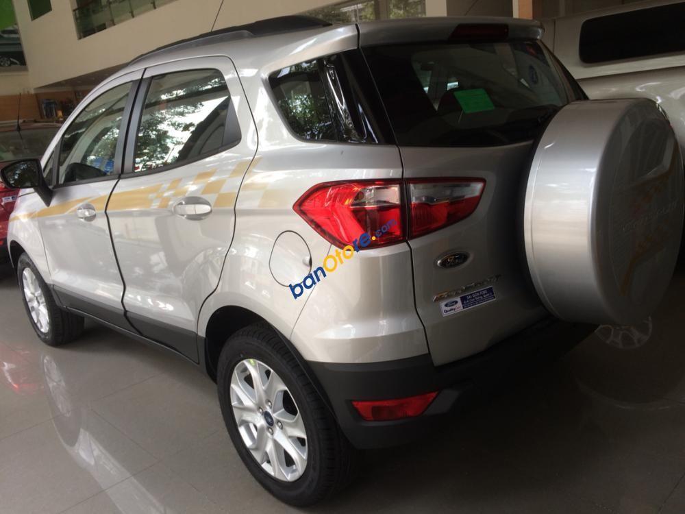 Bán Ford EcoSport MT sản xuất 2017, màu bạc