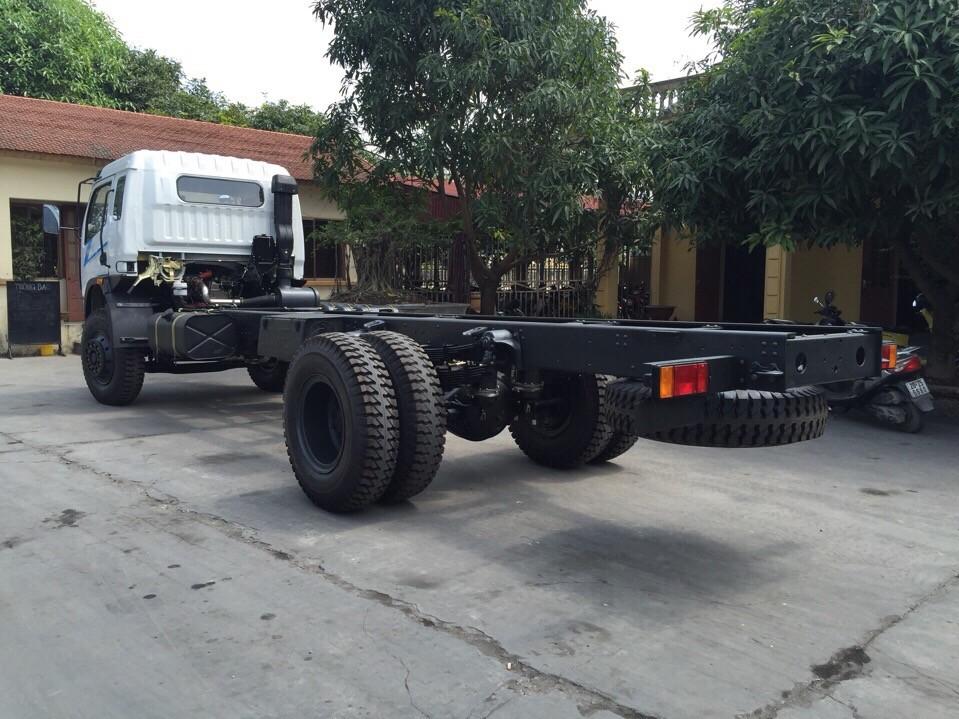 Xe tải Viettrung 7,4 tấn thùng dài 6,7 mét