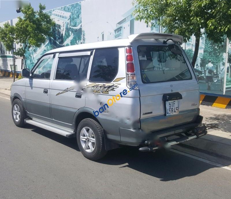 Cần bán lại xe Mitsubishi Jolie 2.0MT năm 2004, màu bạc, 177 triệu