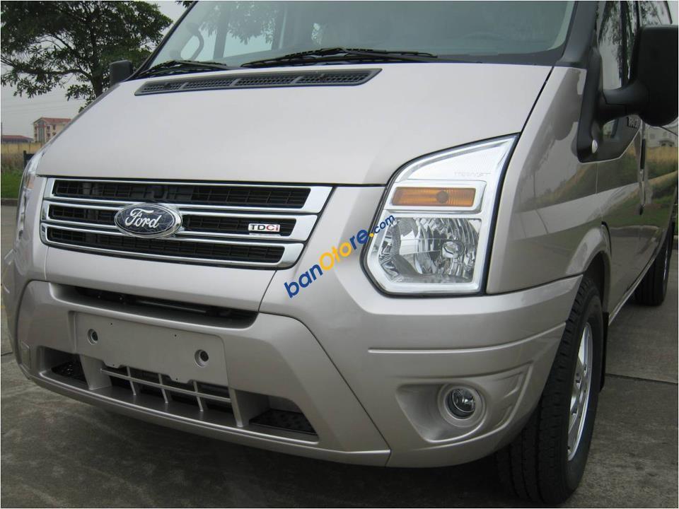 Bán xe Ford Transit sản xuất 2017, màu bạc