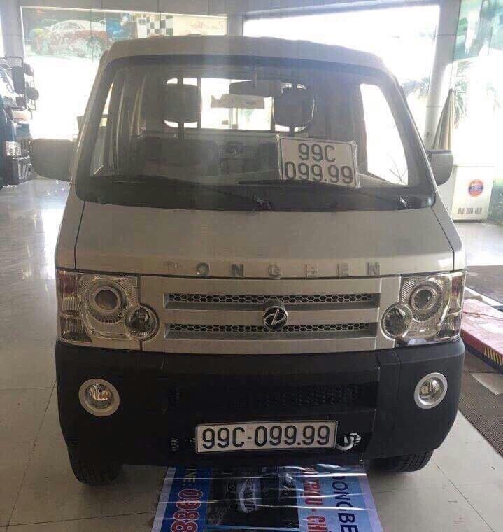 Xe tải nhẹ Dongben 870kg. Tiêu chuẩn khí thải Euro 4