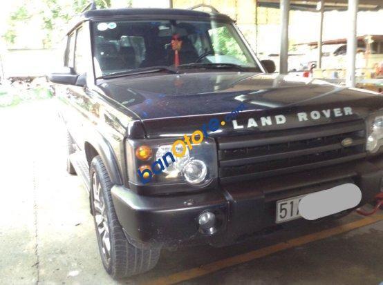 Bán LandRover Discovery đời 2002, màu đen, nhập khẩu
