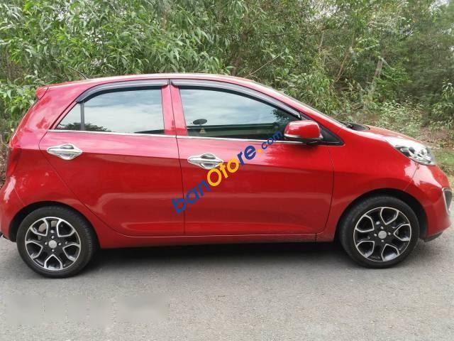 Bán Kia Picanto năm sản xuất 2014, màu đỏ, nhập khẩu