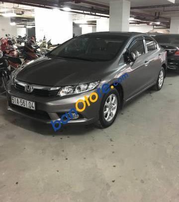 Bán xe cũ Honda Civic 1.8 AT năm 2012, màu xám