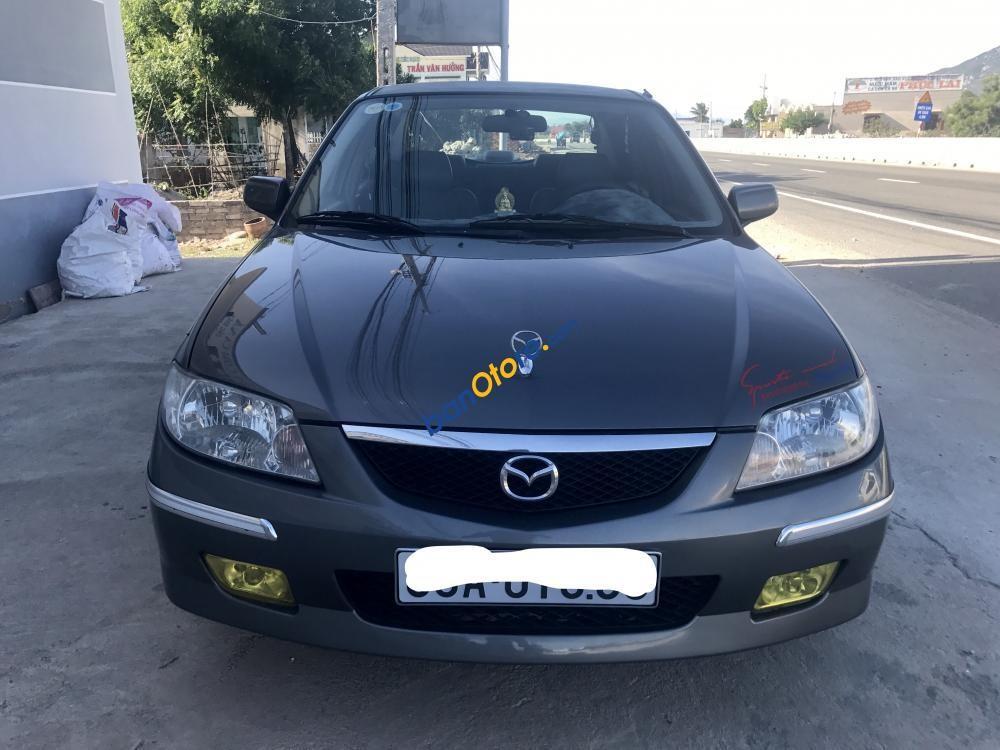 Cần bán xe cũ Mazda 323 2003, màu xám (ghi), nhập khẩu