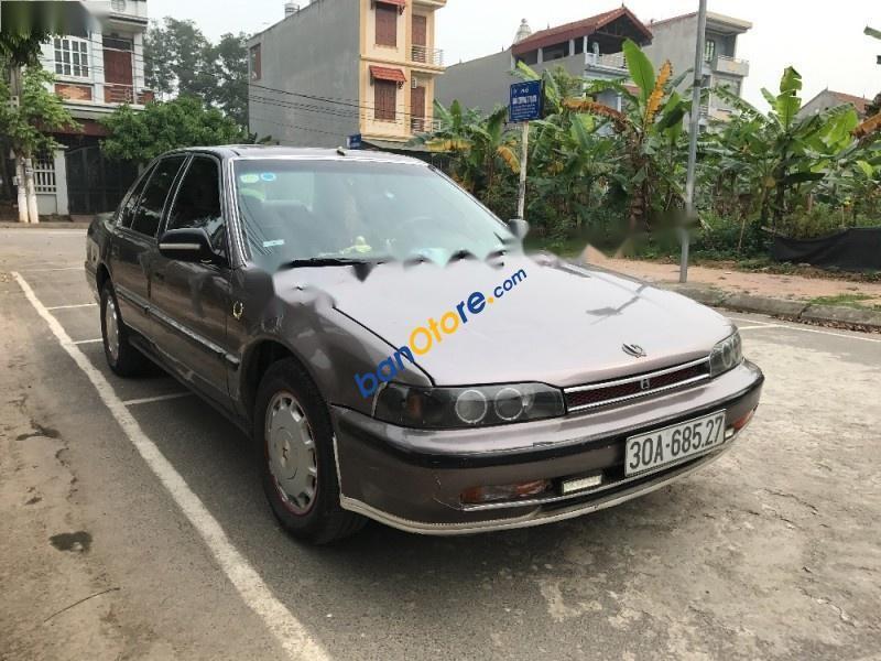 Cần bán Honda Accord EX-MT sản xuất 1992, màu nâu, nhập khẩu nguyên chiếc, giá chỉ 105 triệu