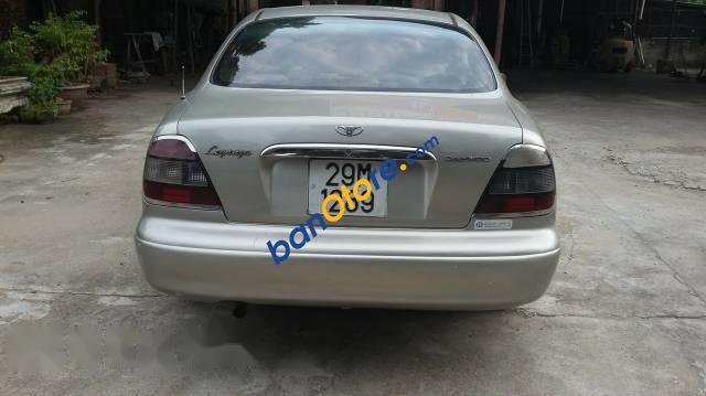 Bán ô tô Daewoo Leganza 2001, màu bạc, xe còn nguyên bản