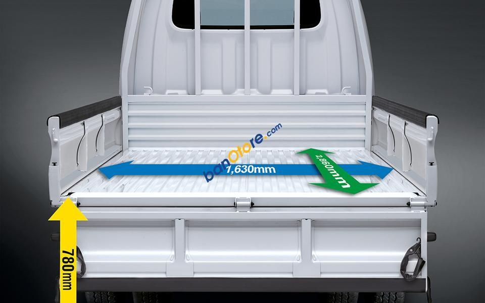 Bán xe Hyundai tải 1 tấn 2.5L máy dầu