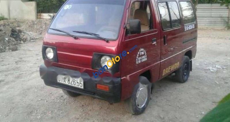 Bán Daewoo Labo sản xuất năm 1992, màu đỏ, số tự động
