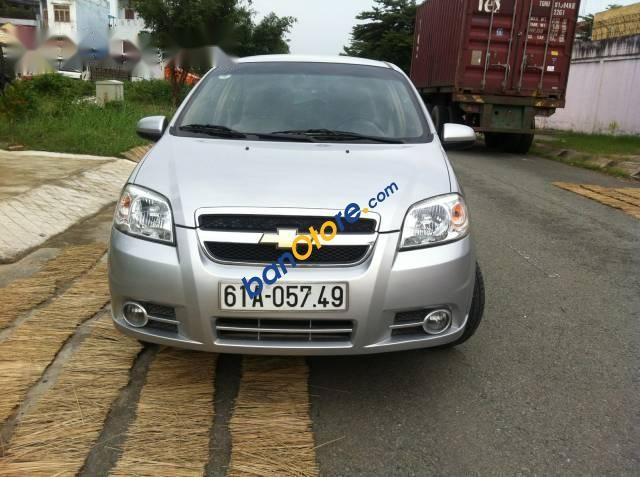 Gia Nh Bn Xe Chevrolet Aveo I 2012 Mu Ghi S Sn