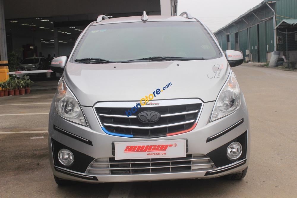 Cần bán xe Daewoo Matiz Groove 1.0AT năm sản xuất 2009, màu bạc