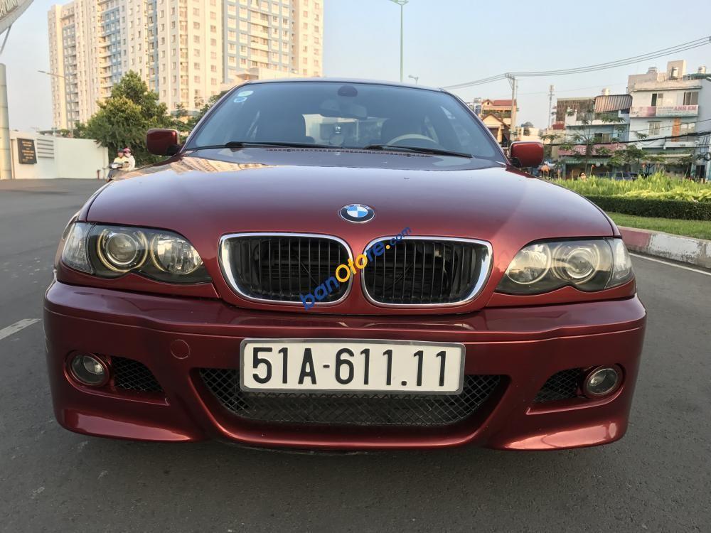 Bán xe BMW 3 Series sản xuất năm 2005, màu đỏ, nhập khẩu