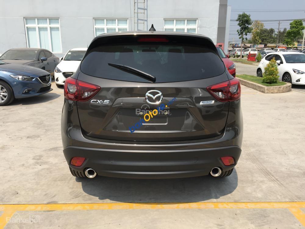 Bán Mazda CX 5 2.0 năm 2017, màu đen, giá chỉ 849 triệu