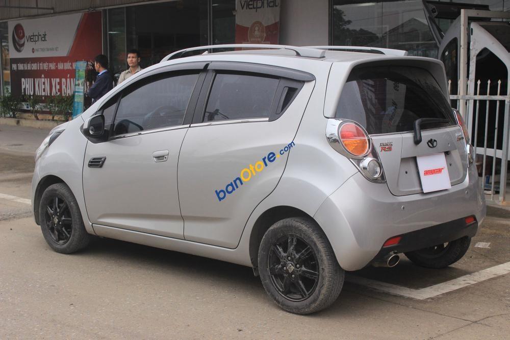 Bán xe cũ Daewoo Matiz Groove 1.0AT đời 2009, màu bạc, nhập khẩu