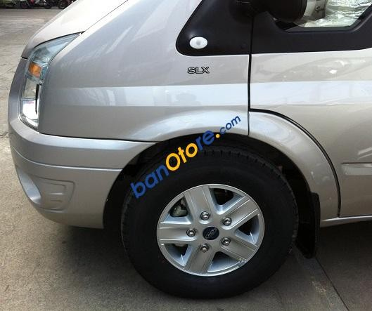 Bán Ford Transit Luxury năm 2016, màu xám