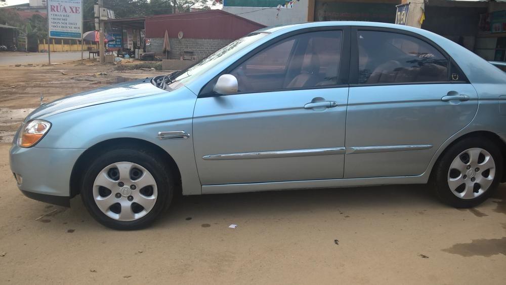 Bán Kia Cerato đời 2007, màu bạc, xe nhập