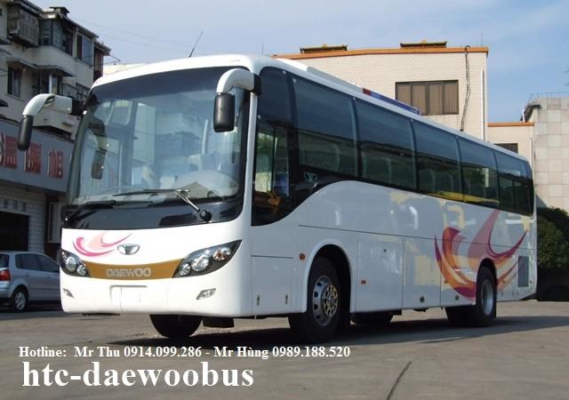 Bán xe buýt Daewoo 60, 80 chỗ