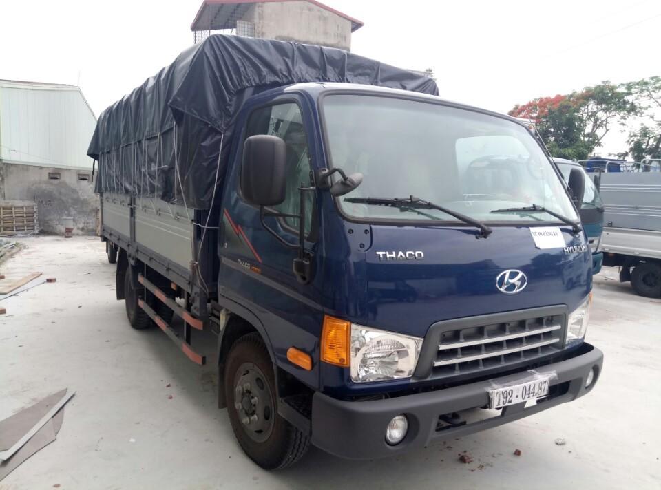 Xe tải Hyundai 5 tấn nâng tải Hải Phòng HD500 0936766663