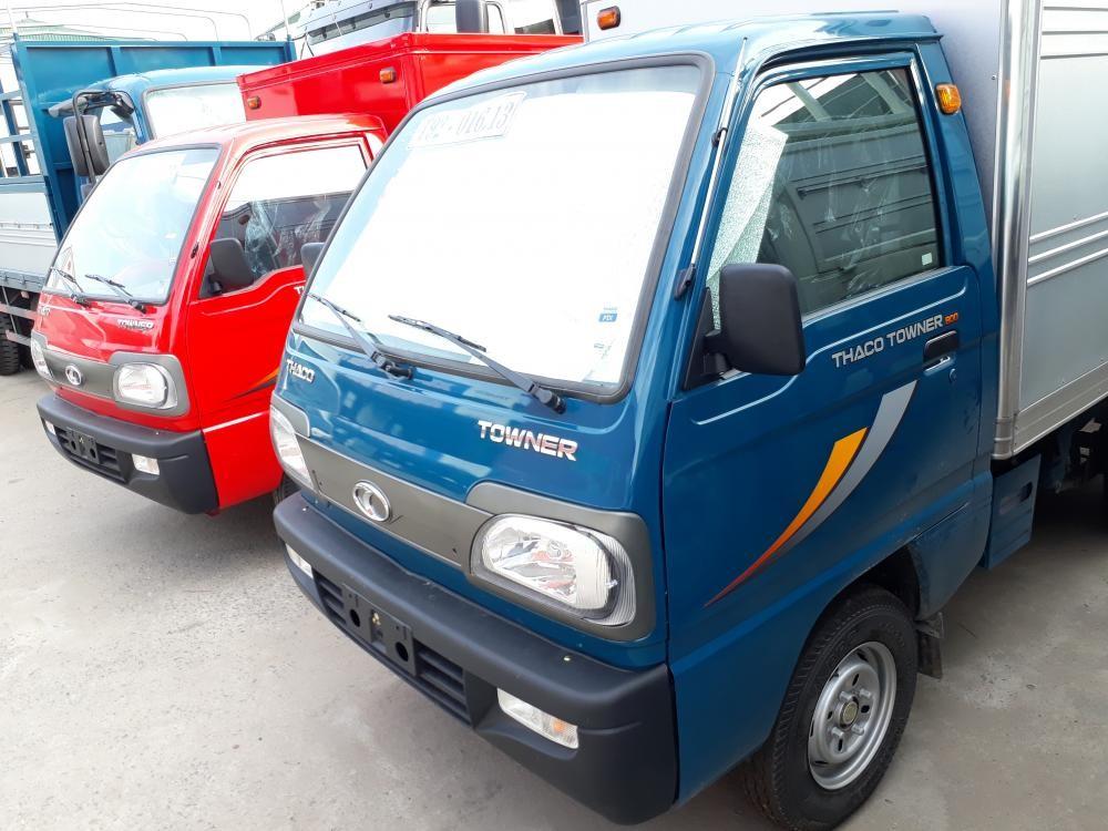 Xe tải Thaco Towner 800 tải trọng 900kg giá rẻ và hỗ trợ trả góp tại Hải Phòng
