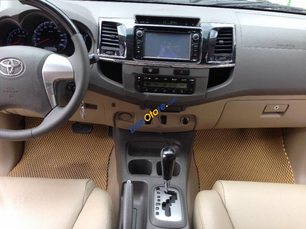 Bán xe Toyota Fortuner 2.7V 2WD đời 2013, màu đen, 740tr