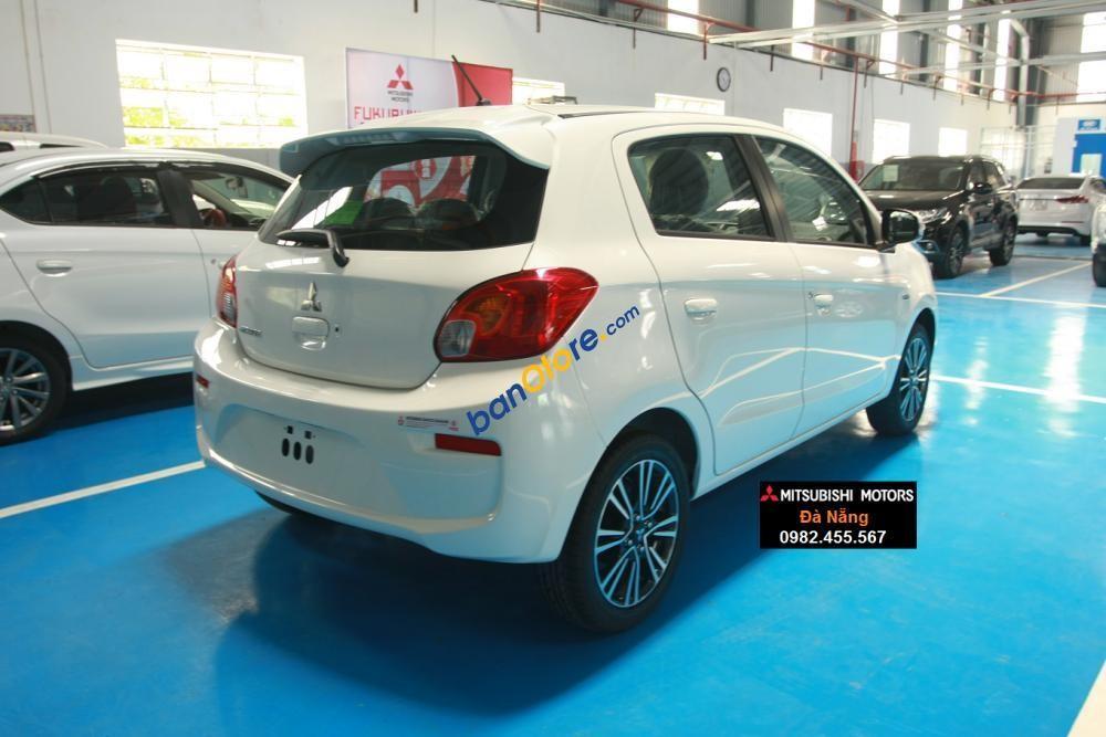 Bán Mitsubishi Mirage đời 2017, màu trắng, xe nhập, giá tốt