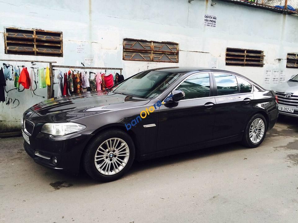 Bán xe BMW 5 Series 520i 2.0AT 2014, màu nâu, nhập khẩu