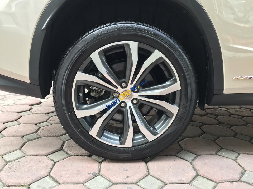 Bán ô tô Lexus RX 450 Luxury sản xuất 2017, màu vàng, xe nhập