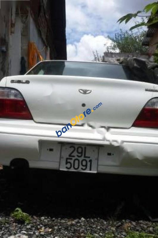 Xe Daewoo Cielo năm sản xuất 1998, màu trắng