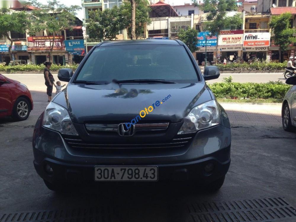Cần bán xe Honda CR V 2.4AT sản xuất 2009, màu xám