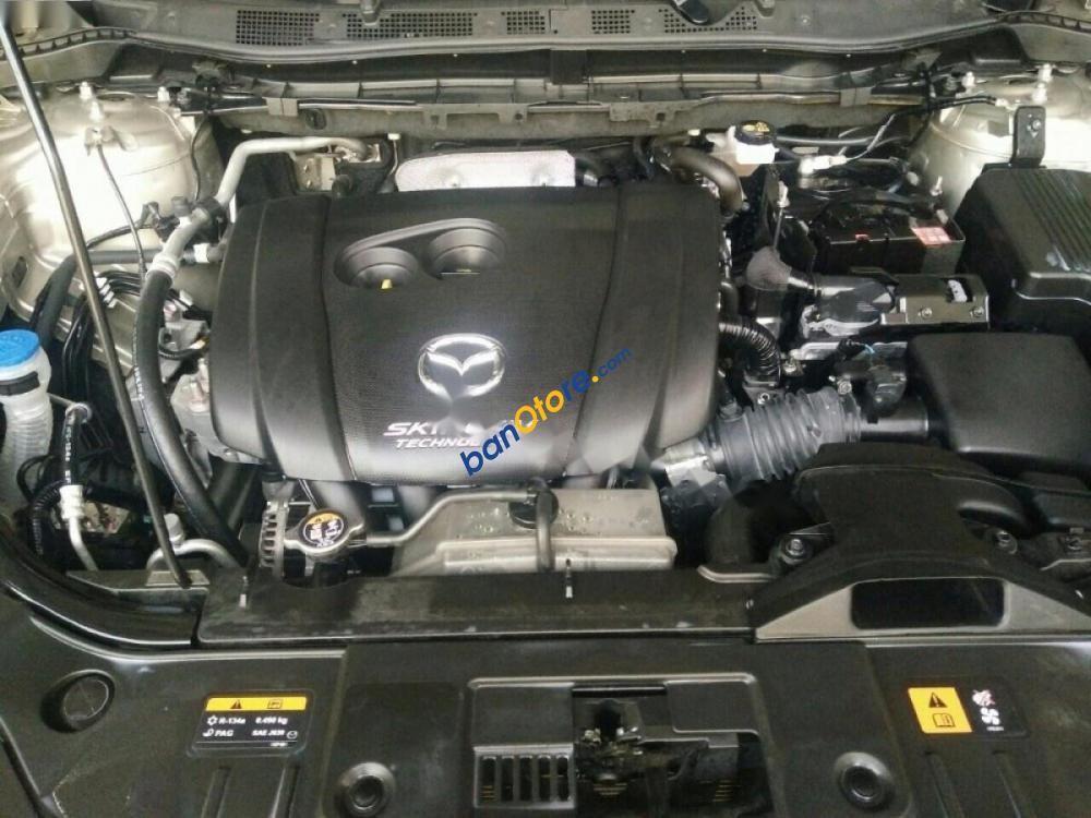 Xe Mazda CX 5 sản xuất 2015, màu nâu, nhập khẩu