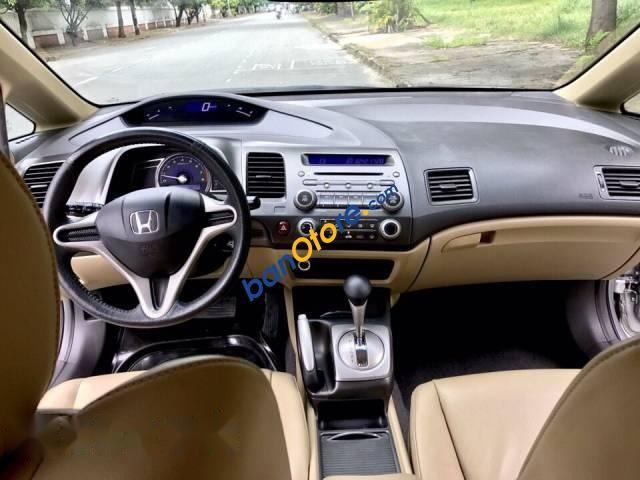 Bán Honda Civic 1.8AT năm 2012, màu bạc, nhập khẩu nguyên chiếc