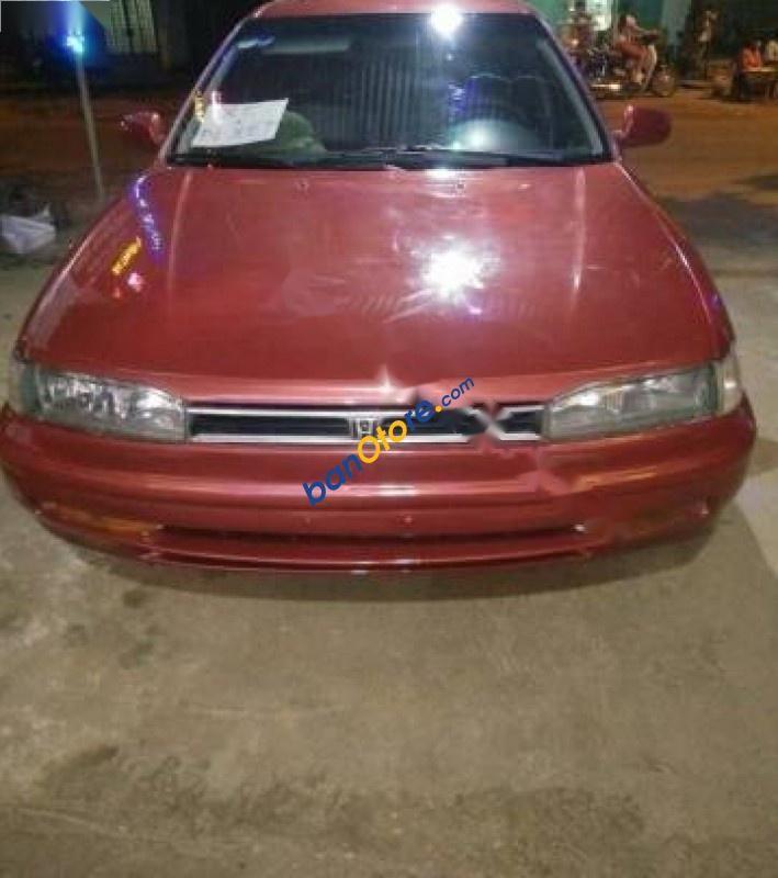 Bán Honda Accord sản xuất năm 1992, màu đỏ, xe nhập