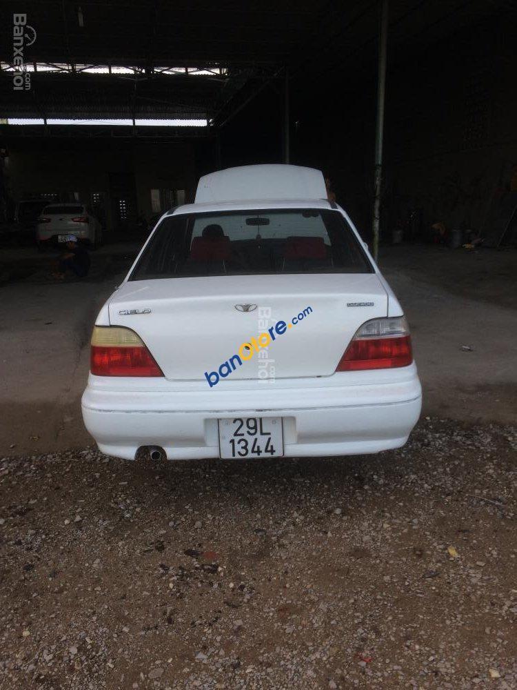 Xe Daewoo Cielo năm 2007, màu trắng, xe nhập