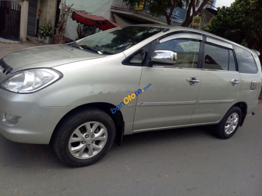 Bán xe Toyota Innova sản xuất 2007, màu bạc