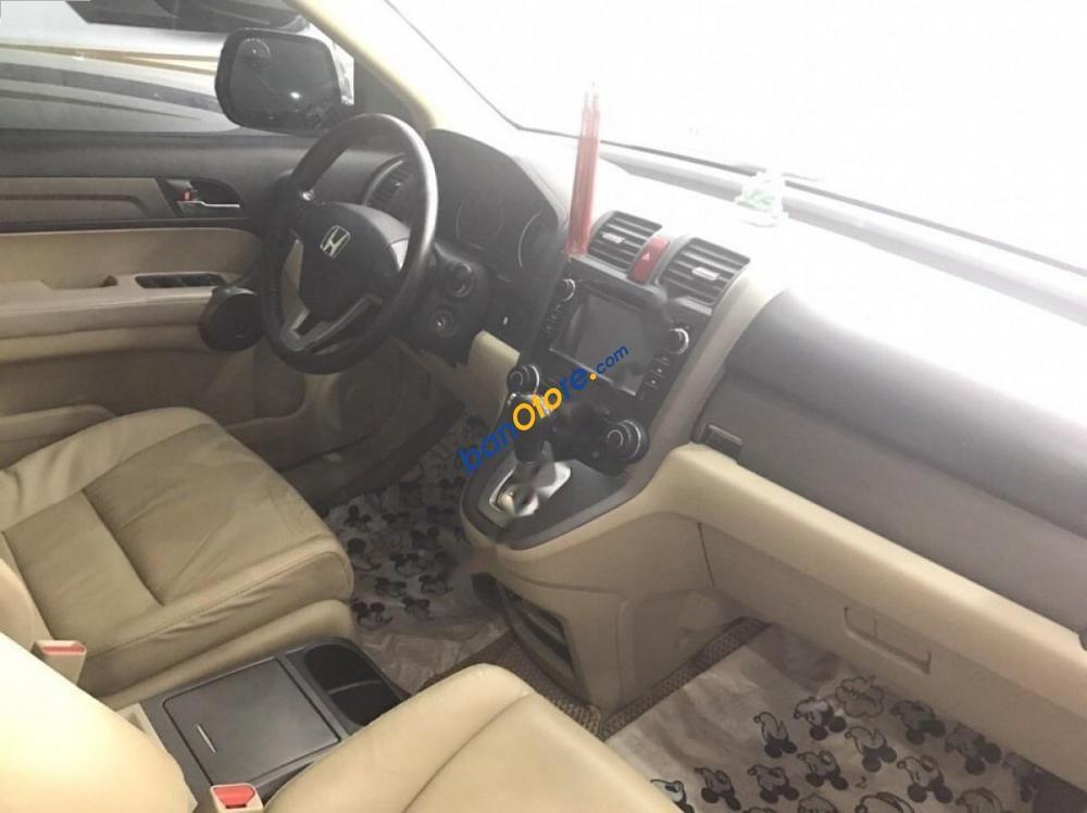 Xe Honda CR V năm sản xuất 2009, màu đen