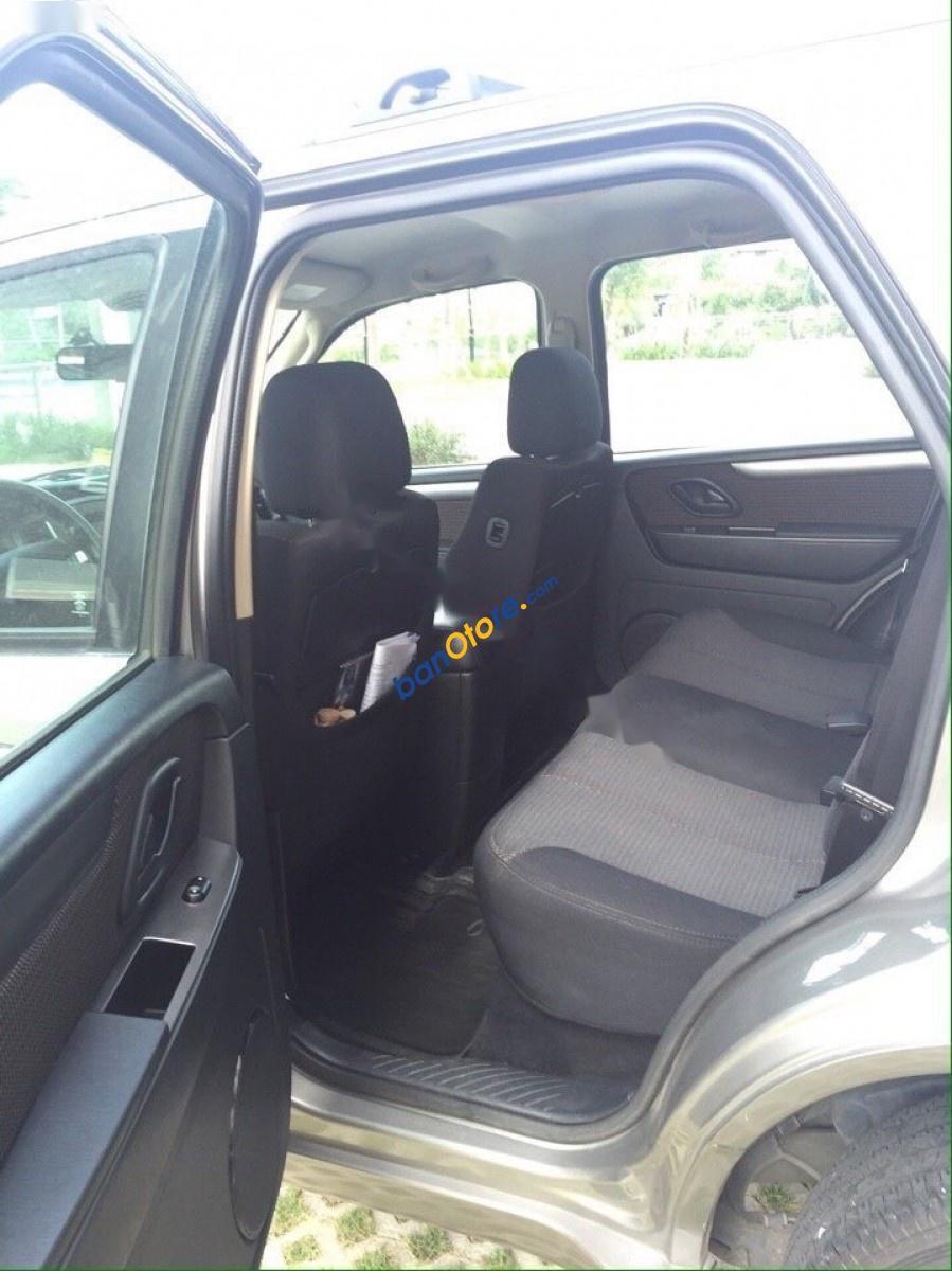 Bán lại xe Ford Escape 2.3L XLS AT đời 2009, màu xám, xe công ty xuất hoá đơn, còn rất mới và đẹp
