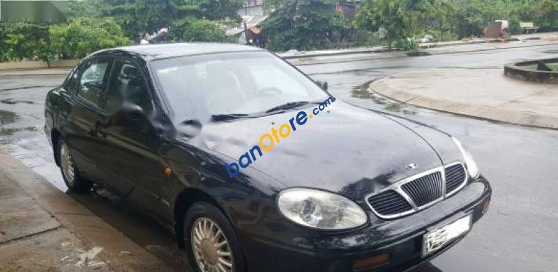 Cần bán gấp Daewoo Leganza năm 2001, màu đen, nhập khẩu