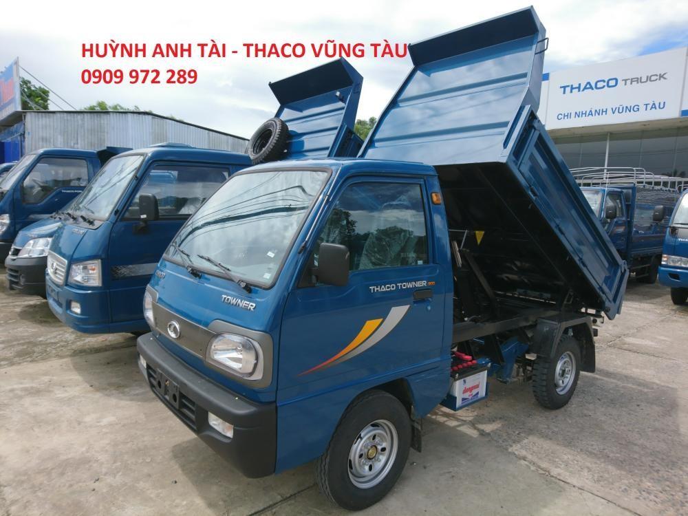 Trường Hải Vũng Tàu bán xe ben đã sử dụng Thaco Towner 500 kg 750 kg trả góp