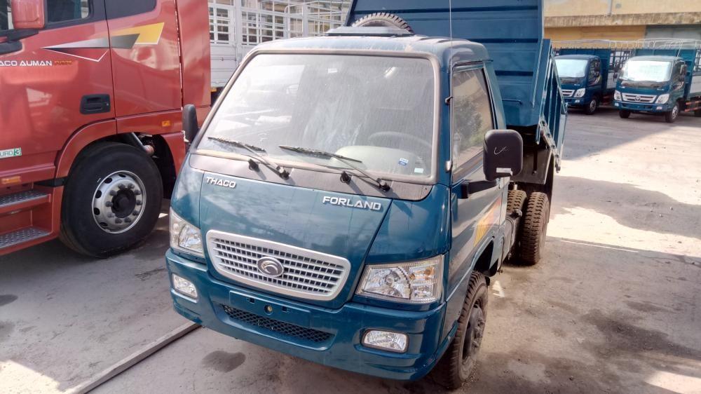 Bán xe Ben FLD250c 2 tấn 2.5 tấn màu rêu tại Hải Phòng 0936766663