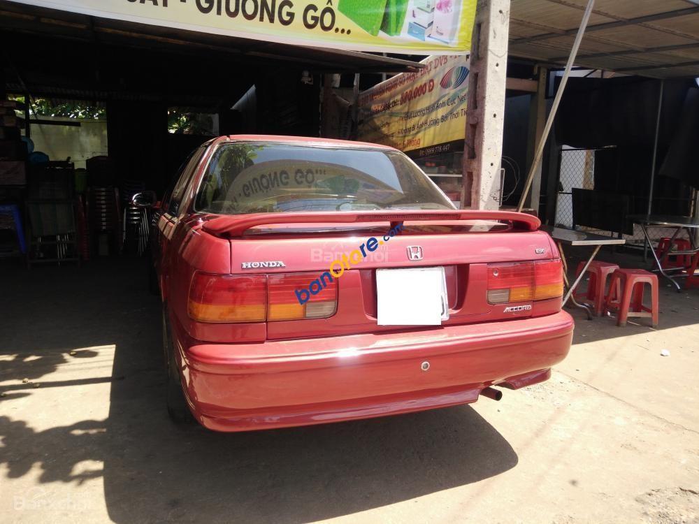 Bán Honda Accord Ex năm sản xuất 1992, màu đỏ, nhập khẩu nguyên chiếc chính chủ
