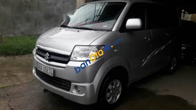 Bán Suzuki APV năm sản xuất 2008, màu bạc giá cạnh tranh