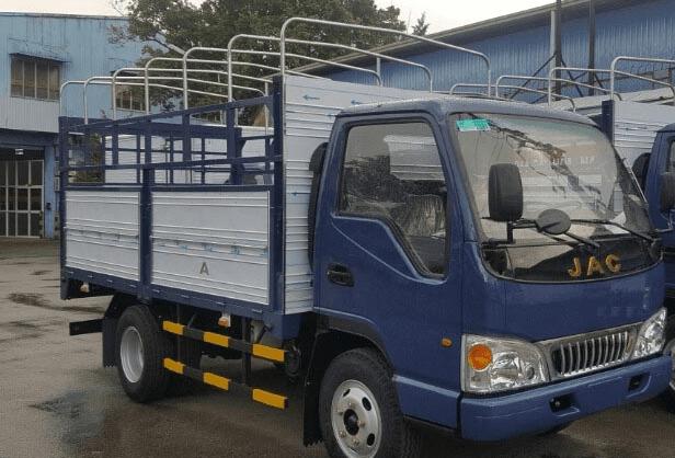 Bán xe tải JAC 2,4 tấn, xe tải công nghệ isuzu mới