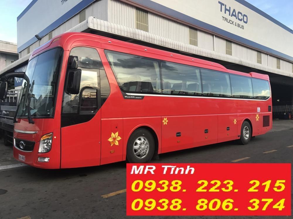 Bán Thaco Universe W375Ps Và W336Ps Tb120S 2017 47 chỗ, hai màu, nhập khẩu Thaco lắp Ráp giá rẻ phân phối toàn quốc