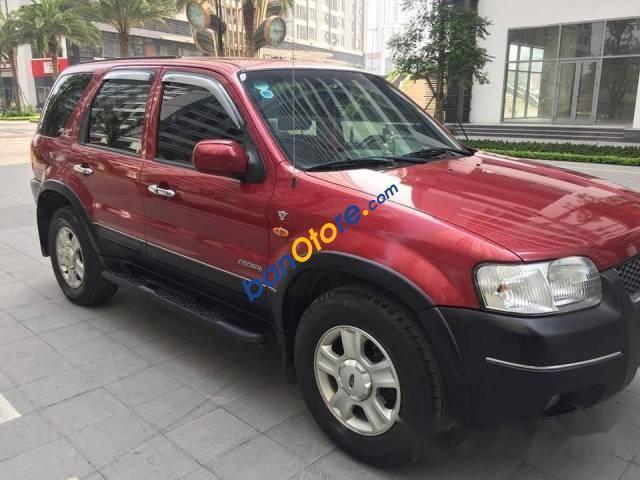Cần bán gấp Ford Escape XLT sản xuất năm 2003, màu đỏ chính chủ, 178tr