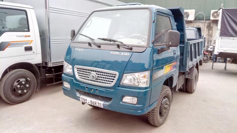 Bán xe Ben Thaco 1 tấn (2 khối) tại Hải Phòng FLD250c 0936766663