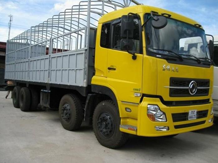 Xe tải Dongfeng Trường Giang 4 chân 18.7 tấn, 19.1 tấn. Hỗ trợ trả góp giá rẻ nhất