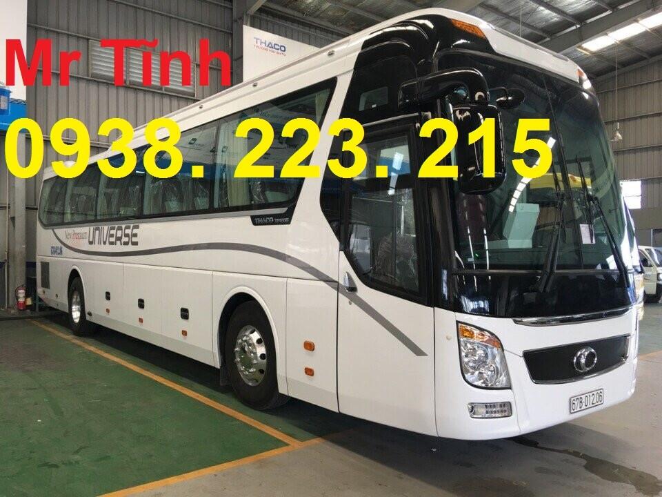 Cần bán xe 47 ghế Thaco Universe máy 336ps 2017, màu trắng